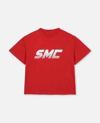Stella Mccartney Kids Stella McCartney smc logo cotton t-shirt