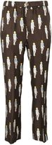 Dondup Printed Trousers