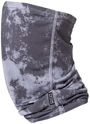 Future Stitch Tie-Dye Gaiter (Grey) Scarves