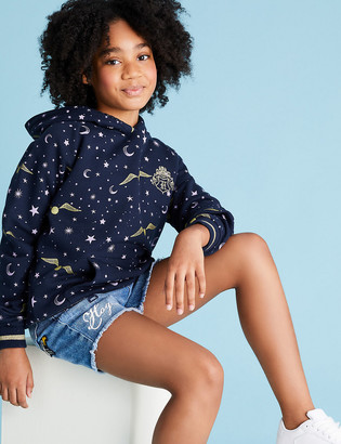 Marks and Spencer Harry Potter Cotton Golden Snitch Hoodie (6-16 Yrs)