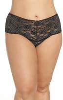 Hanky Panky Plus Size Women's Cross Dye Lace Retro Thong