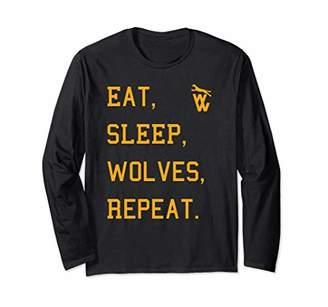 Vintage Wolverhampton Soccer Jersey Retro Wolves Wulfrunian Long Sleeve T-Shirt