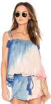 Young Fabulous & Broke Young, Fabulous & Broke Indi Cami in Blue. - size L (also in M,S,XS)
