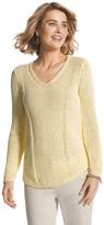 Chico's Sequin Shine Samantha Sweater