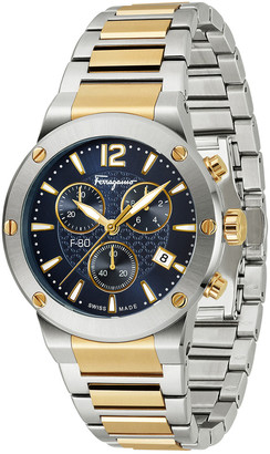 Salvatore Ferragamo Men's F80 Stainless Steel Watch