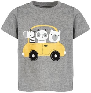 First Impressions Toddler Boys Animal Driver T-Shirt, Created for Macy's