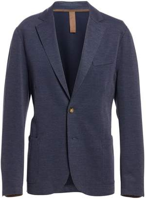 Eleventy Regular-Fit Cotton Pique Laser-Cut Jersey Jacket