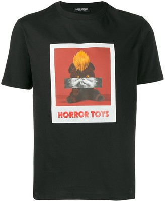Neil Barrett Horror Toys print T-shirt