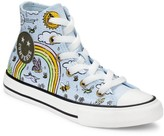 Converse Girl's Camp Rainbow Hi-Top Chuck Taylor All Star Sneakers