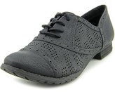 Not Rated Style Traveler Women Round Toe Synthetic Black Oxford.
