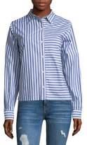 Current/Elliott The Des Striped Shirt