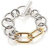 Alexander Wang Mixed Metal Toggle Bracelet