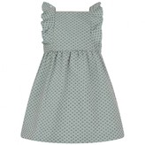Chloé ChloeBaby Girls Aqua Jacquard Dress