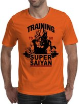 TopLAD Training to go Super Saiyan Mens T-Shirt /
