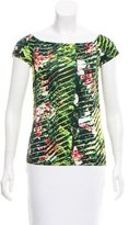 Kenzo Short Sleeve Floral Top