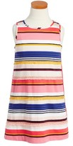 Kate Spade Toddler Girl's Berber Stripe A-Line Dress