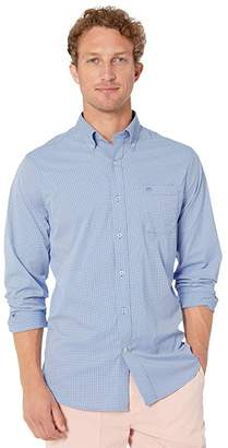 Southern Tide Point Pinos Micro Gingham Intercoastal Performance Sports Shirt