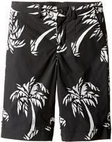 Dolce & Gabbana Palm Leaf Bermuda Boy's Shorts