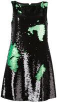 Emporio Armani sequin shift dress