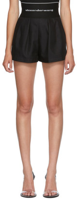 Alexander Wang Black Safari Shorts