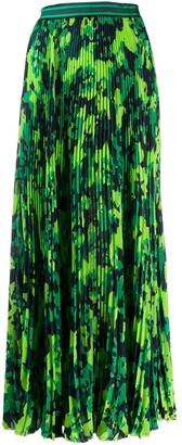 Mr & Mrs Italy Camo Print Pleated Skirt