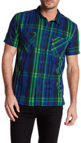 Levi's Tuma Short Sleeve Plaid Shirt