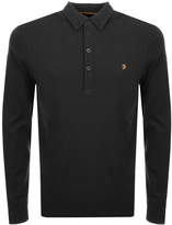 Farah Vintage Merriweather Polo T Shirt Black