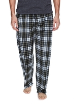 Ben Sherman Plaid Micro Fleece Pajama Pants