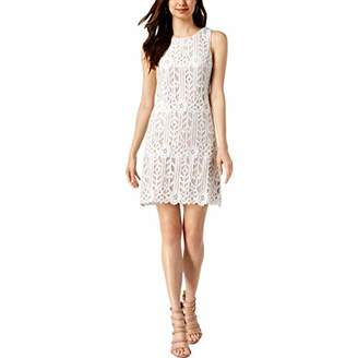 Jessica Howard Women's Sleeveless Lace Shift Dress