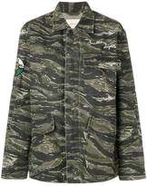 Current/Elliott camouflage patch jacket