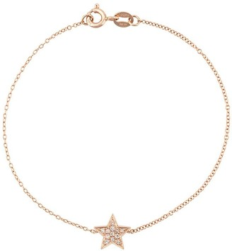 Dana Rebecca Designs 14kt rose gold Julianne Himiko diamond star bracelet