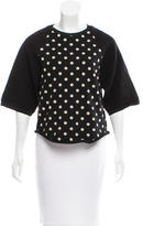 3.1 Phillip Lim Polka Dot Paneled Sweatshirt