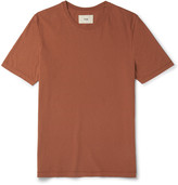 Folk - Panelled Cotton-jersey T-shirt