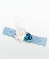 Lillian Rose Blue Vintage Garter