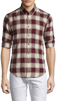 Naked & Famous Denim Printed Button-Down Regular Sportshirt