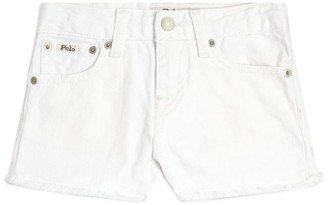 Ralph Lauren Kids Frayed Denim Shorts (2-4 Years)