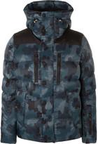 Moncler Rodenberg Padded Camouflage-Print Ski Jacket