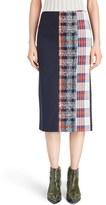 Acne Studios Women's 'Polina' Pieced Midi Skirt