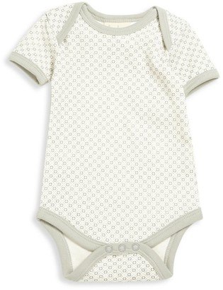 Sapling Baby's Short-Sleeve Organic Cotton Bodysuit