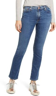 AG Jeans Mari High Waist Ankle Straight Leg Jeans