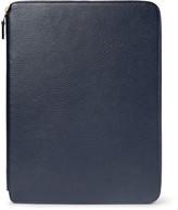 Smythson Burlington A4 Full-grain Leather Writing Folder