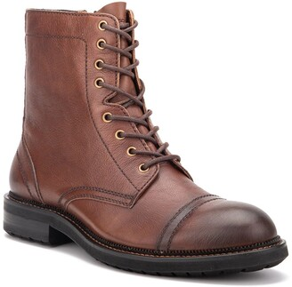 Vintage Foundry Felimone Leather Lace-Up Boot