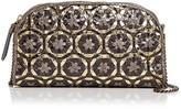 Eric Javits Gilda Woven Snakeskin Shoulder Bag