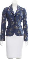 Etro Brocade Button-Up Blazer