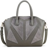 Sole Society Rosamund Satchel with Panel Detail