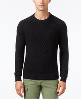 Tommy Hilfiger Men's Big & Tall Prescott Textured Piqué Sweater