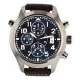 Iwc Pilot Blue Steel Watches