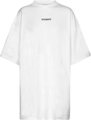 Vetements Logo cotton T-shirt