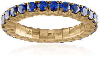 Vittorio B. Fine Jewels Fit For Life Jewels 18K Gold Blue Sapphire Ring