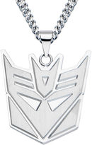 JCPenney FINE JEWELRY Inox Mens Stainless Steel Transformers Decepticon Pendant Necklace